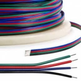 Metro Cable RGB 4 Vias 4 x...