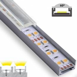 Perfil Aluminio Superficie...
