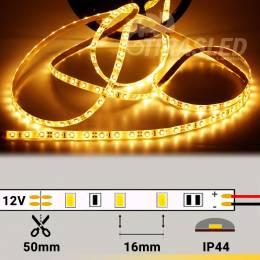 Metro Tira LED 12V 4,8W 60 LEDs/m 3528 IP44 2500K