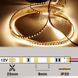 Metro Tira LED 12V 9,6W 120 LEDs/m 3528 4000K CRI97