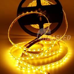 Tira de LED 12V 14,4W/m IP44 Luz Cálida 3000K encendida en rollo
