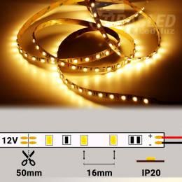 Tira LED 12V 14,4W 60 LEDs/m 5050 3000K