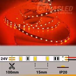 Tira LED 24V 14,4W IP20 Luz...
