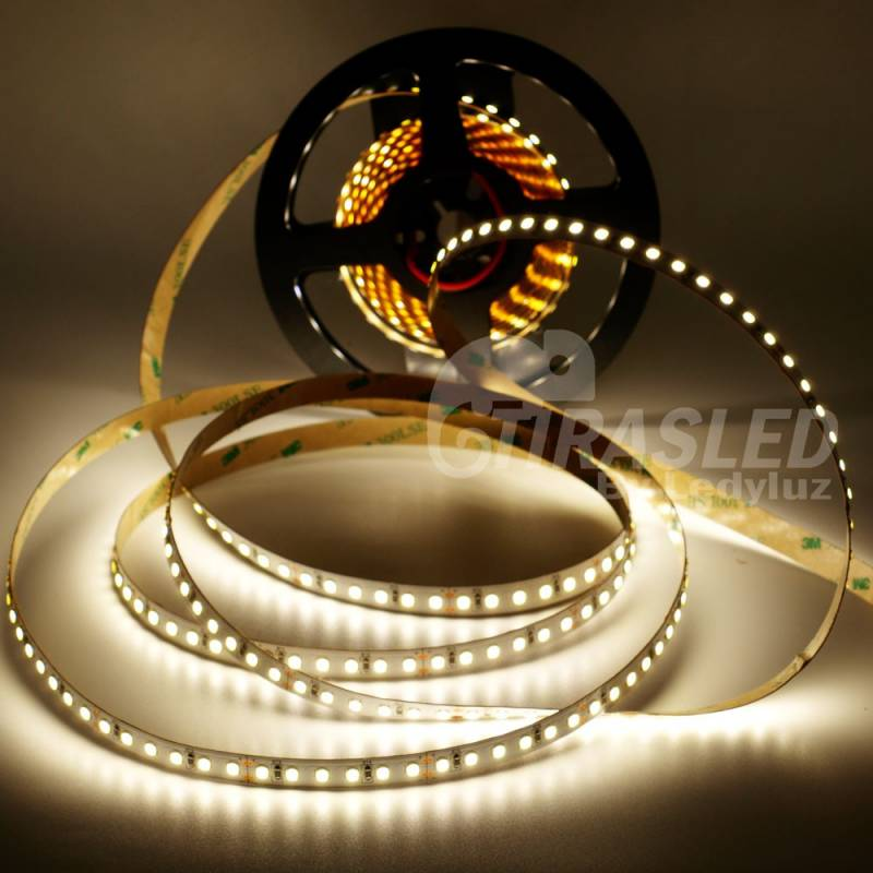 Rollo de Tira LED 24V 28,8W IP20 Luz Neutra 4000K encendido
