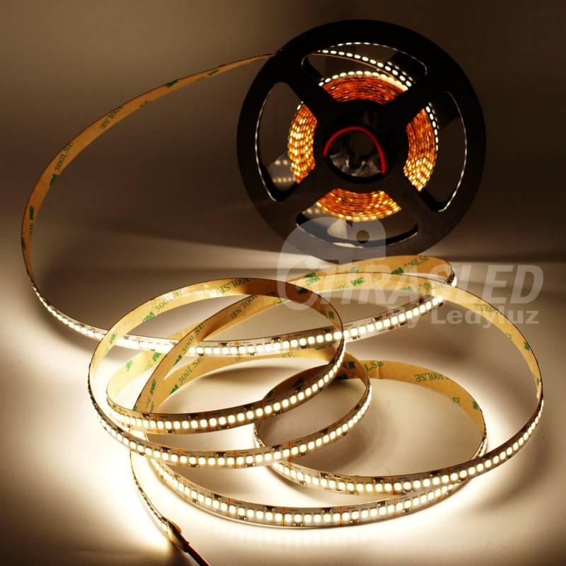 Rollo de Tira LED 24V 19W IP20 Luz Neutra 4000K CRI90 encendido
