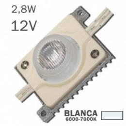 Módulo LED 2,8W 12V 6 x...
