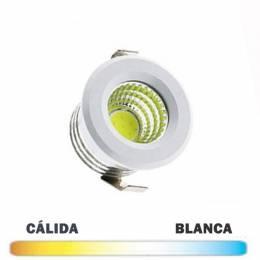 Downlight LED Mini Plata...