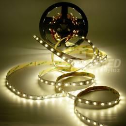 Rollo de Tira LED 24V 14,4W 60 LEDs/m 5050 4000K encendido