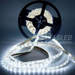 Rollo de Tira LED 24V 14,4W IP44 Luz Blanca 6000K encendida