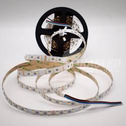 Rollo de Tira LED 24V 19W 60 LEDs/m IP20 RGB + Blanco 6000K