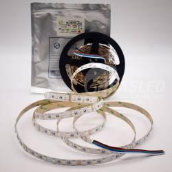 Rollo de Tira LED 24V 19W 60 LEDs/m IP20 RGB + Blanco 6000K con bolsa