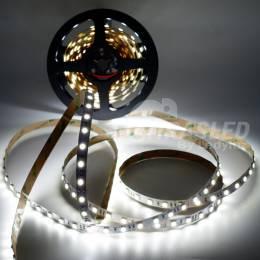 Rollo de Tira LED 24V 14,4W 60 LEDs/m 5050 6000K encendido