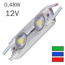 Módulo LED 0,48W 12V 2 x...