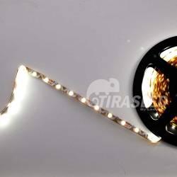 Tira de LED Flexible S 12V 11W IP20 Luz Blanca 6000K encendida muestra de doblado
