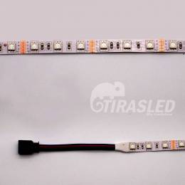 Tira LED 12V 14,4W  IP20 RGB Cambio Color