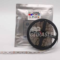 TIRA LED 12V 14,4W 60 LEDs/M 5050 GROW LIGHT rollo apagado