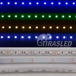 Tira LED 12V 14,4W 60 LEDs/m 5050 IP65 RGB