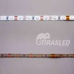 Metro tira LED 4,8W/m 12V 60 LEDs/M 3528 Luz Blanca Siliconada 2 PCB
