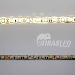 Tira de LED 12V 14,4W/m IP44 Luz Neutra 4000K con 2 PCB encendido y apagado