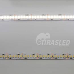 Tira LED 24V 19W IP20 Luz Blanca 6000K CRI90 encendido y apagado en 2 muestras
