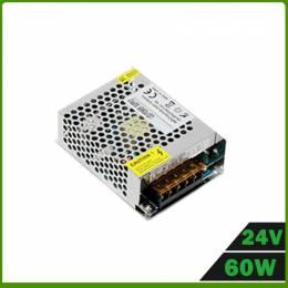 Fuente Alimentación LED IP20 60W 24V
