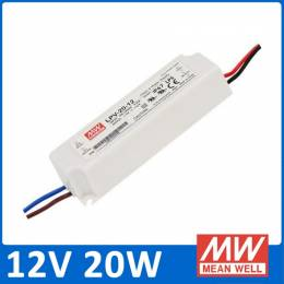 Fuente Alimentación LED Meanwell IP67 20W 12V