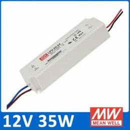 Fuente Alimentación LED Meanwell IP67 35W 12V