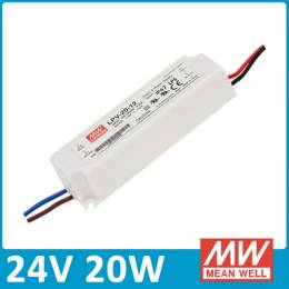 Fuente Alimentación LED Meanwell IP67 20W 24V