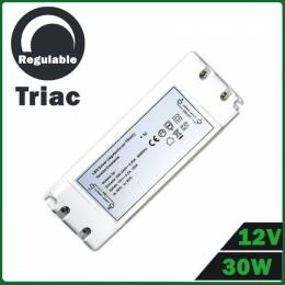 Fuente Alimentación LED Dimmable 12V 30W TRIAC