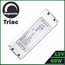 Fuente Alimentación LED Dimmable 12V 60W TRIAC