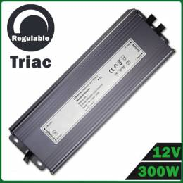 Fuente Alimentación LED Dimmable 12V 300W TRIAC