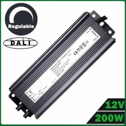 Fuente Alimentación LED Dimmable 200W 12V DALI