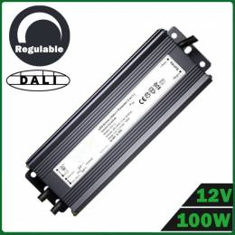 Fuente Alimentación LED Dimmable 100W 12V DALI