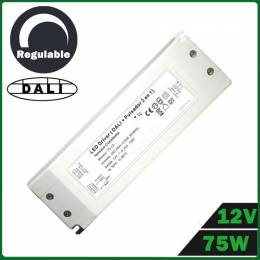 Fuente Alimentación LED Dimmable 75W 12V DALI