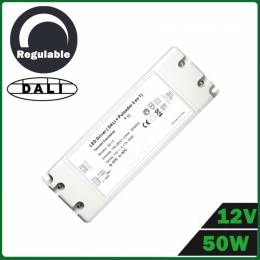 Fuente Alimentación LED Dimmable 50W 12V DALI