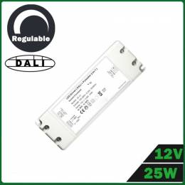 Fuente Alimentación LED Dimmable 25W 12V DALI