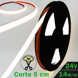 Rollo de Neón Flex LED 24V 14,5W Alta Potencia 6000K con datos técnicos