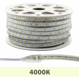 Metro Tira LED 220V 14W/m 5050 IP65 4000K