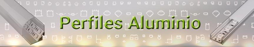 Perfiles aluminio para tiras LED