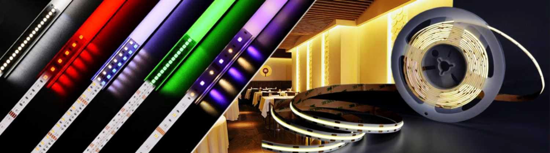 Interiorismo con iluminación LED con nuestras Tiras LED cuyos formatos y variedades son ideales para instalaciones profesionales